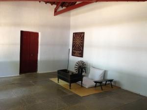 Gandhi's room