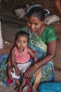 Rekhaben & her granddaughter