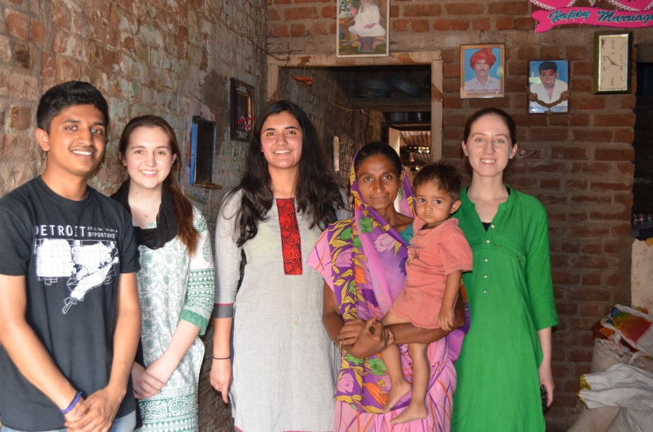 Team photo with Kusumben and Jaivil.JPG
